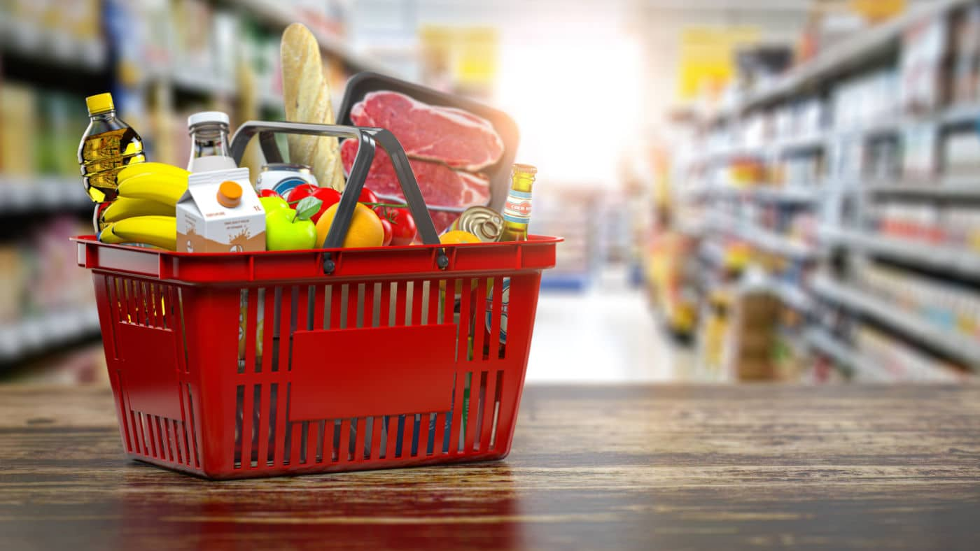 Shopping basket for a help 'n' hand client